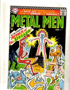 Metal Men # 22 VG/FN DC Silver Age Comic Book Andru Cover Platinum Invisible FM2