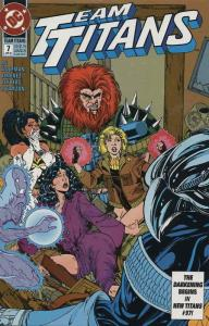Team Titans #7 VF/NM; DC | save on shipping - details inside