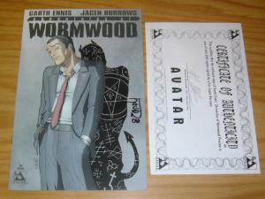 Chronicles of Wormwood Preview #1 VF/NM signed by jacen burrows w/COA (only 500)