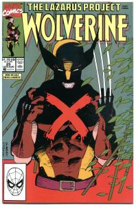 WOLVERINE #29, NM+, Snikt, 1988, X-men, Lazarus Project, more in store