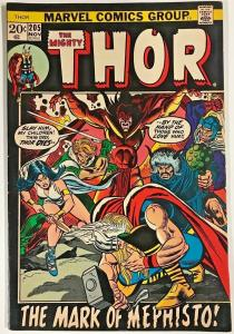 THOR#205 FN 1972 MARVEL BRONZE AGE COMICS