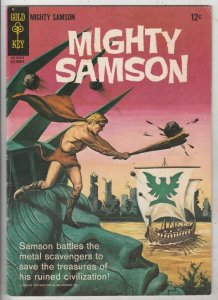 Mighty Samson #1 (Jul-64) FN/VF Mid-High-Grade Mighty Samson