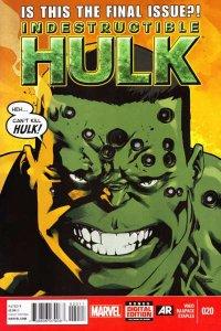 Indestructible Hulk #20, NM + (Stock photo)