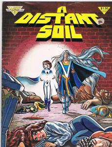 A Distant Soil # 1 FN/VF Bronze Age Warp Graphics Books Hi-Res Scans Great Issue