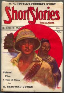 Short Stories Pulp December 25 1929- Colonel Flea- WC Tuttle