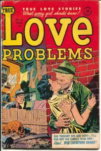 True Love Problems #26 1954-Harvey-Lee Elias cover-lingerie panels=G