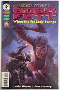 STAR WARS BOBA FETT#2 VF/NM WHEN THE FAT LADY SWINGS 1997 DARK HORSE COMICS