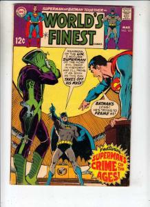 World's Finest #183 (Mar-69) FN- Mid-Grade Superman, Batman
