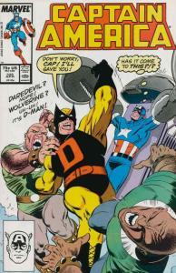 Captain America (1st Series) #328 FN; Marvel | save on shipping - details inside