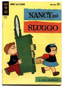 NANCY AND SLUGGO #189 comic book 1963-DELL PEANUTS-SCHULZ