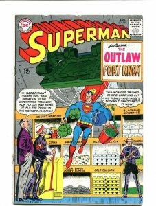 SUPERMAN 179-1965-AUGUST-FORT KNOX-AMAZING! VG