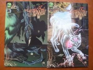 2 Big Dog Ink (BDI) Comic: THE LEGEND OF OZ THE WICKED WEST #15 #17 (Frank Baum)