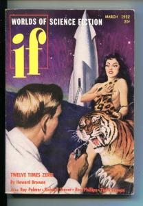 IF-#1-JULY 1952-SCI-FI-STURGEON-ROCKET-SOUTHERN STATES PEDIGREE-fn+
