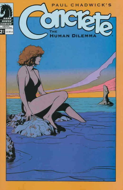 Concrete: The Human Dilemma #2 FN; Dark Horse | save on shipping - details insid
