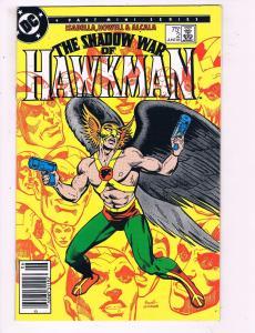 The Shadow War Of Hawkman #2 VF DC Comics Comic Book 1985 DE10