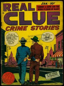 Real Clue Crime Stories Vol.3 #11 1949- Golden Age Comic G