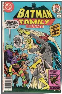 BATMAN FAMILY 10 FN  April 1977