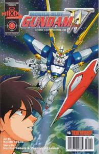 Mobile Suit Gundam Wing #1 FN; Mixx | save on shipping - details inside