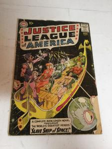 Justice League Of America 3 Gd Good 2.0 Water Damage