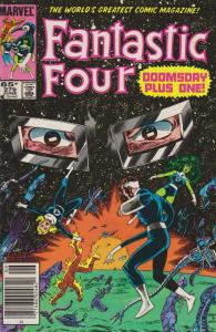 Fantastic Four (Vol. 1) #279 (Mark Jewelers) FN; Marvel | save on shipping - det