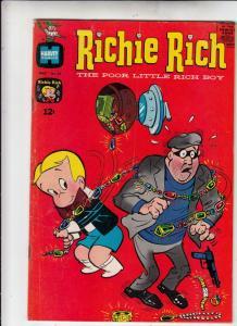 Richie Rich #69 (May-68) FN/VF- Mid-High-Grade Richie Rich