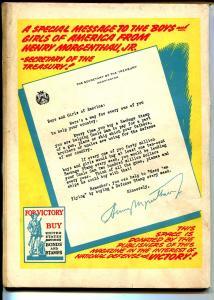 Coo Coo #3 1943-Nedor-Supermouse-1st funny animal superhero-rare-VG
