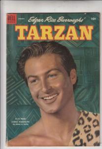 Tarzan #52 (Jan-54) FN- Mid-Grade Tarzan, Boy