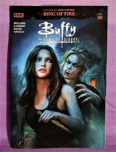 ComicTom101 BUFFY THE VAMPIRE SLAYER #20 Shannon Maer Cover (Boom!, 2020)!