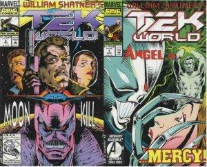 TEK WORLD (1992 EPIC) 6-7  2-part story arc! COMICS BOOK