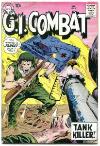 GI Combat #67 1959-DC- 1ST TANK KILLER-DC War comic VG-