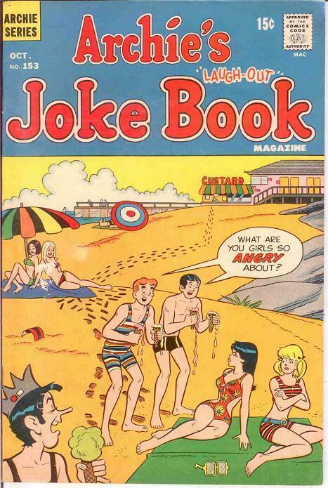 ARCHIES JOKE BOOK (1954-1982)153 VG-F Oct. 1970 COMICS BOOK
