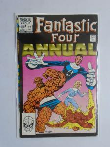 Fantastic Four (1st Series) Annual #17, Direct Edition, 5.0 (1983)