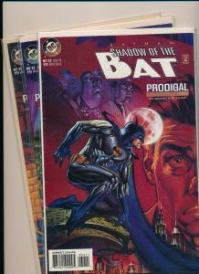 DC LOT of 3~ Shadow of the BAT Prodigal Two, Six, & Ten #32-34 BATMAN NM(PF848)