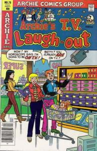 Archie's TV Laugh-Out #75 VG; Archie | low grade comic - save on shipping - deta