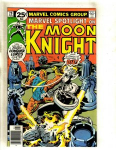 Marvel Spotlight # 29 NM Comic Book Kirby Cover Moon Knight Conquer Lord's HJ9