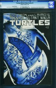 Teenage Mutant Ninja Turtles #2 CGC 9.6-1984-2nd print-1452276001
