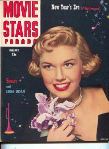 Movie Stars Parade-Doris Day-Frank Sinatra-Linda Darnell-Jan-1950