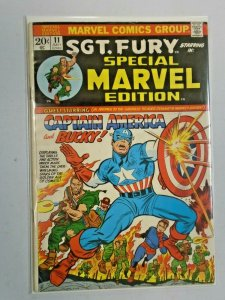 Special Marvel Edition #11 Captain America and Bucky 5.0 (1973)