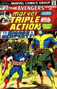 Marvel Triple Action (1972 series) #25, VF-