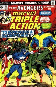 Marvel Triple Action (1972 series) #25, VF- (Stock photo)