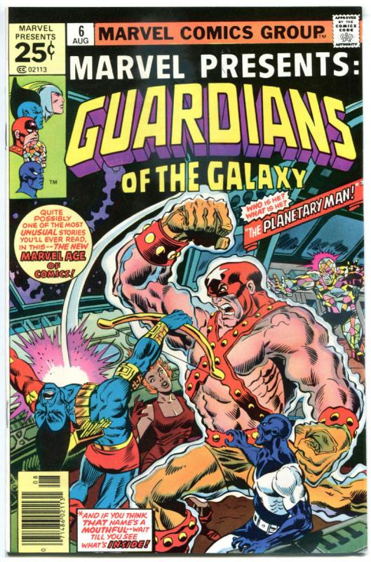 MARVEL PRESENTS #6, VF/NM, Guardians of the Galaxy, 1975, more Bronze in store