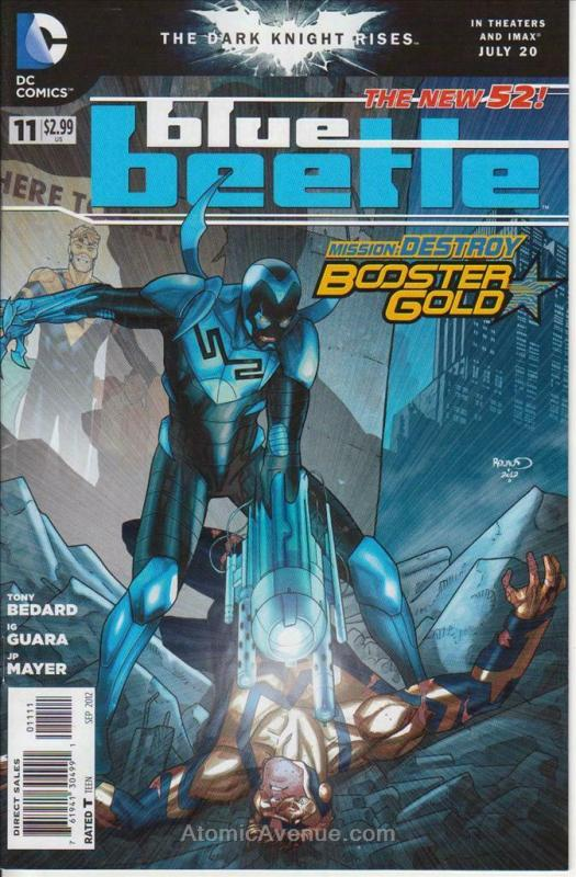 Blue Beetle (5th Series) #11 VF/NM; DC | save on shipping - details inside