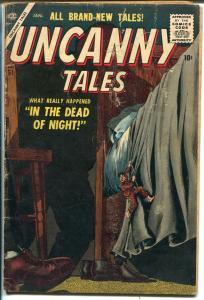 Uncanny Tales #51 1957-Marvel-Al Williamson-Gray Morrow-horror-mystery-VG