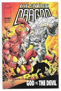 Savage Dragon #31 VF/NM Recalled Version God Swears 1st Print Image Comics 1996
