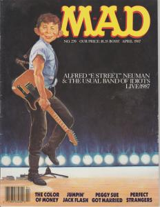 MAD MAGAZINE #270 - HUMOR COMIC MAGAZINE