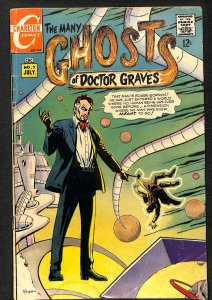 Many Ghosts of Dr. Graves #7 (1968)