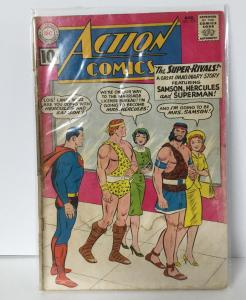 Action Comics 279 1.8 Gd- Good- W/D Cover Attached At One Staple DC Comics SA