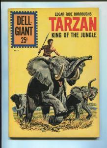 TARZAN'S JUNGLE WORLD #51 1961-DELL-EDGAR RICE BURROUGHS-FN