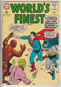 World's Finest #144 (Sep-64) VF+ High-Grade Superman, Batman, Robin