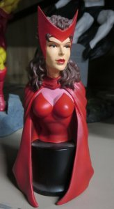SCARLET WITCH BOWEN DESIGNS BUST! #516/5000. NO BOX, bust only!